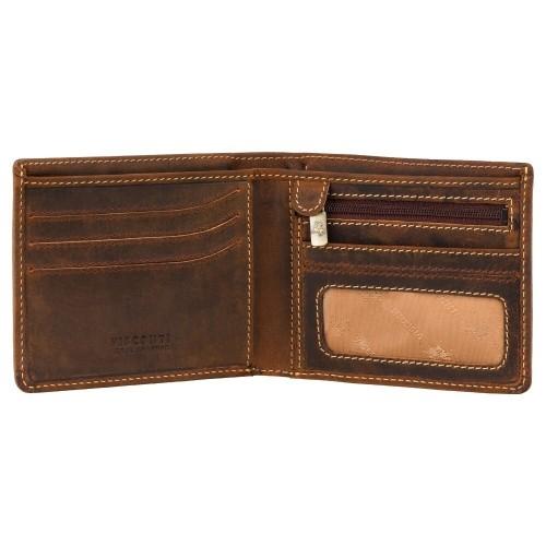 Visconti pánská peněženka z olejované kůže s RFID a TAP GO