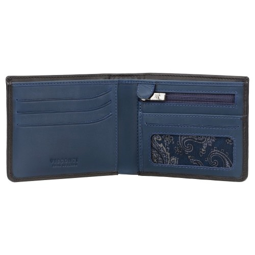 Visconti pánska kožená peňaženka s RFID a Tap & Go