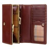 Visconti kvalitní dámská kožená peněženka na klip