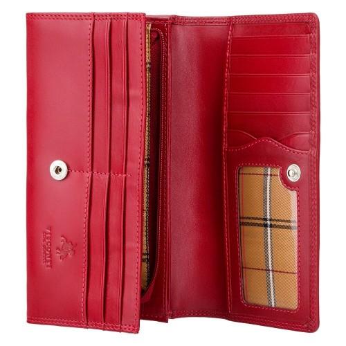 Visconti kvalitná dámska klasická kožená peňaženka