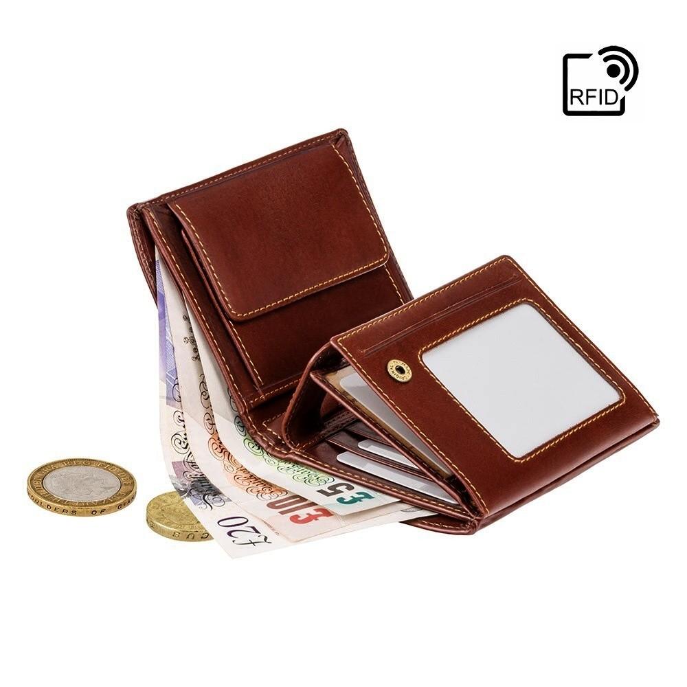 3f6479100 ... Visconti Alps ALP 87 peněženka pánská 9,5 x 12,5 cm RFID ...