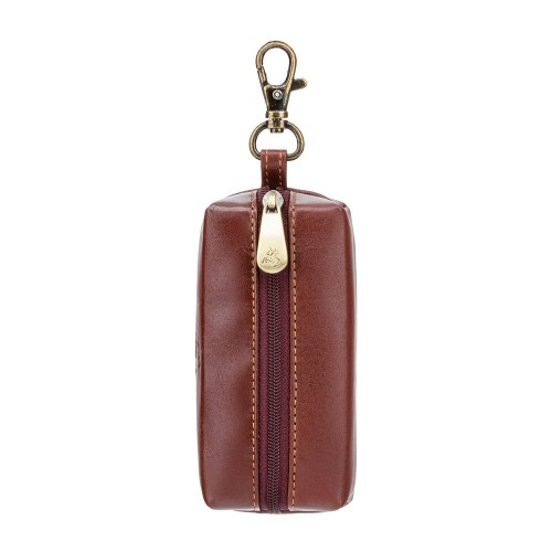 Visconti elegantná kožená kľúčenka