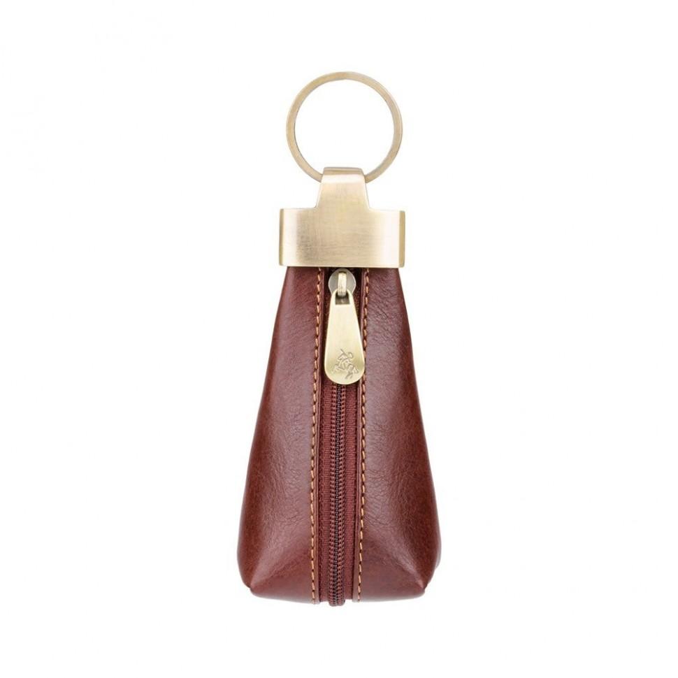 Visconti elegantní kožená klíčenka tvar kapky