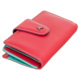 Visconti SPECTRUM SP30 dámská kožená peněženka červená
