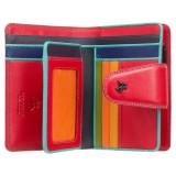 Visconti dámská kožená peněženka červená