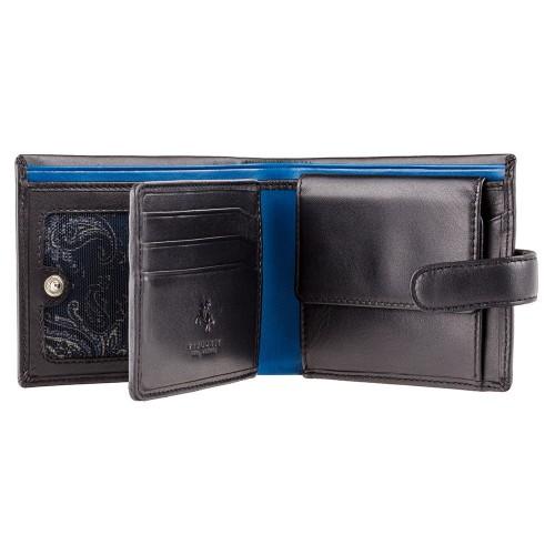 Visconti elegantná pánska peňaženka s kašmírom a RFID