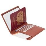 Visconti pouzdro na cestovní pas a karty s RFID