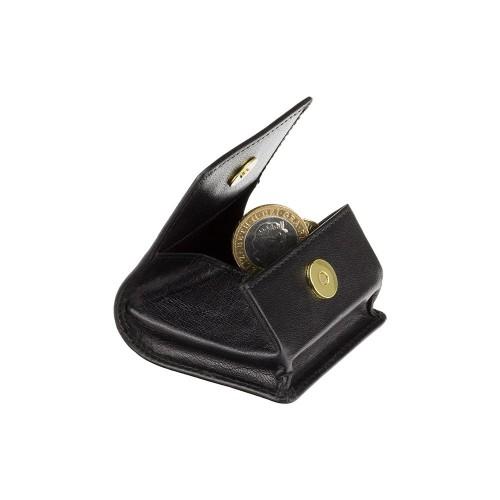 Visconti štvorcová kožená peňaženka na drobné