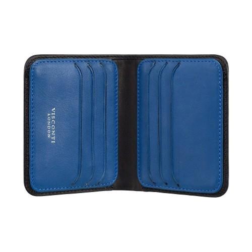 Visconti tenká pánská kožená peňaženka RFID a TAP&GO