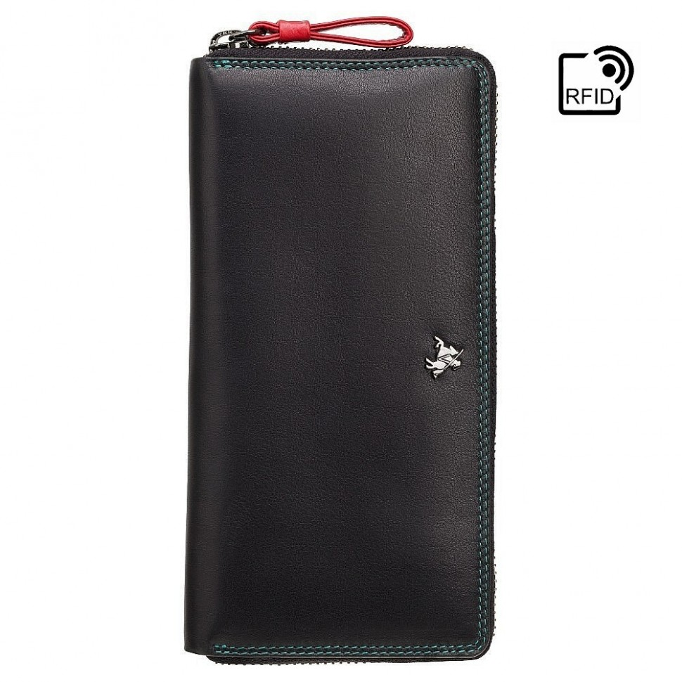 Visconti RIO R11 PALOMA dámská kožená peněženka švestková