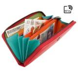 Visconti červená peněženka spektrum barev