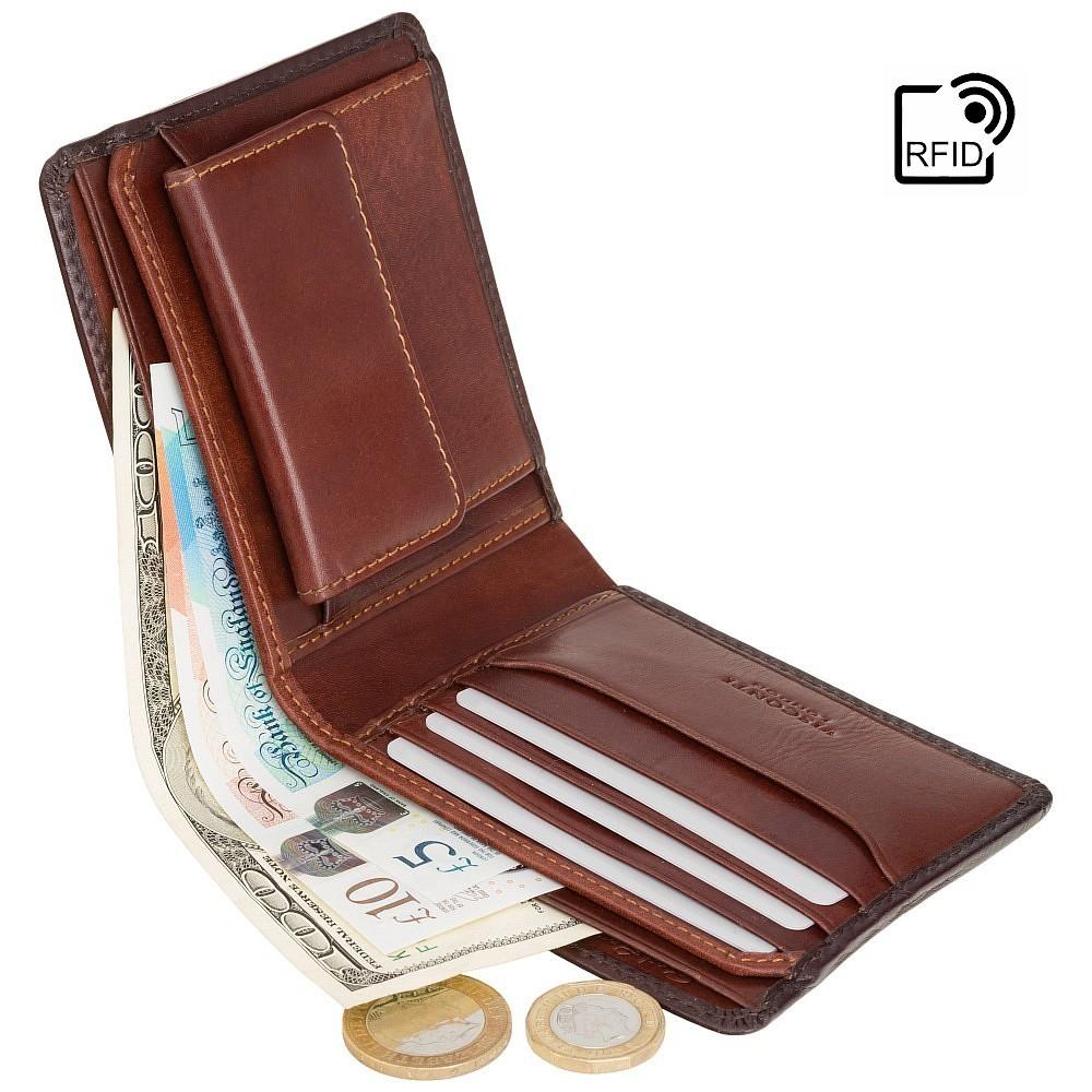 d49dca516 Visconti jedinečná pánska peňaženka z leštenej kože || TAP@GO | MANIEGO