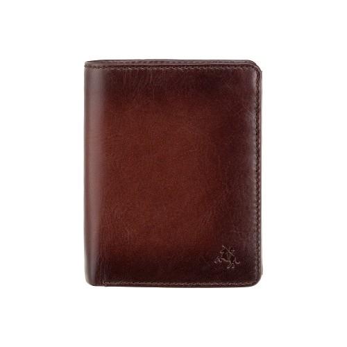 Visconti rozkladacia pánska peňaženka z leštenej kože