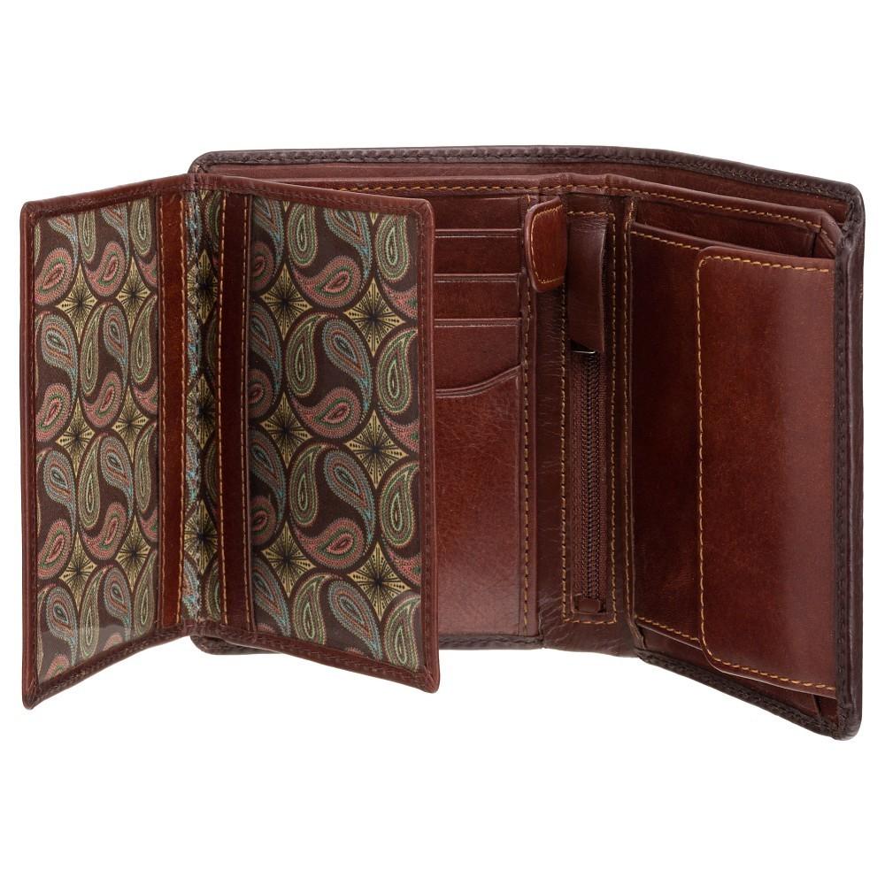 f1af316c6 Visconti pánska peňaženka z leštenej kože s ochranou RFID | MANIEGO