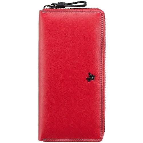 Visconti červená peňaženka spektrum farieb