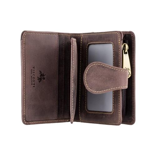 Visconti dámska kožená peňaženka z olejovanej kože