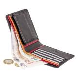 Visconti pánská kožená peňaženka na drobné a bankovky