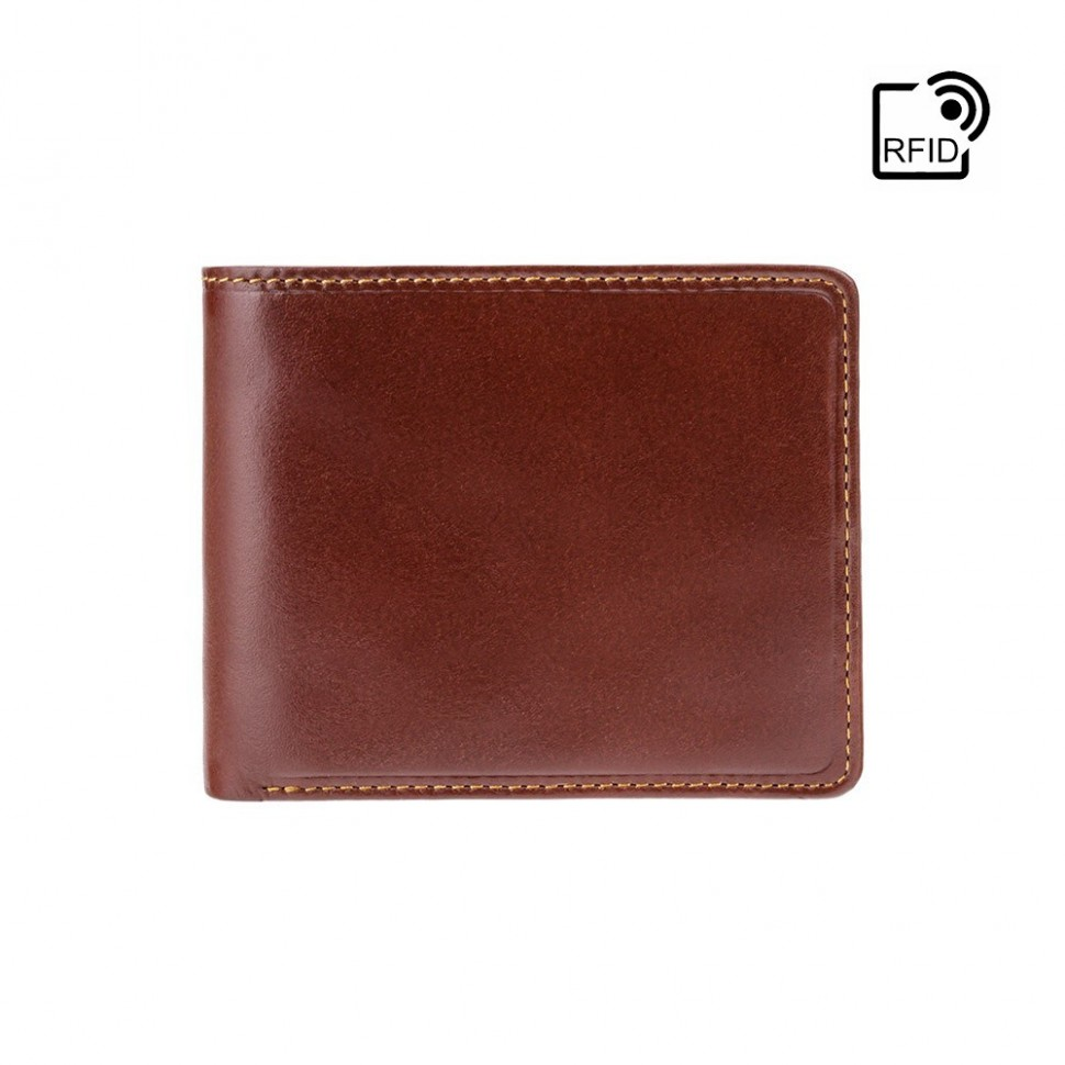 Visconti jednoduchá dvoubarevná pánská peněženka