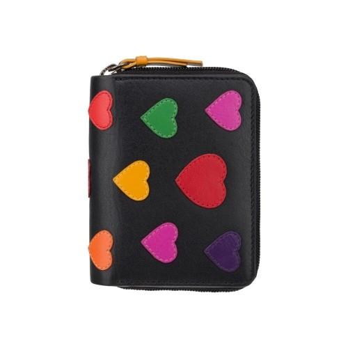Visconti oranžová dievčenská peňaženka ochrana RFID