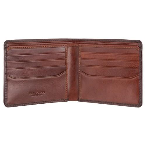 Visconti úzká pánská kožená peněženka