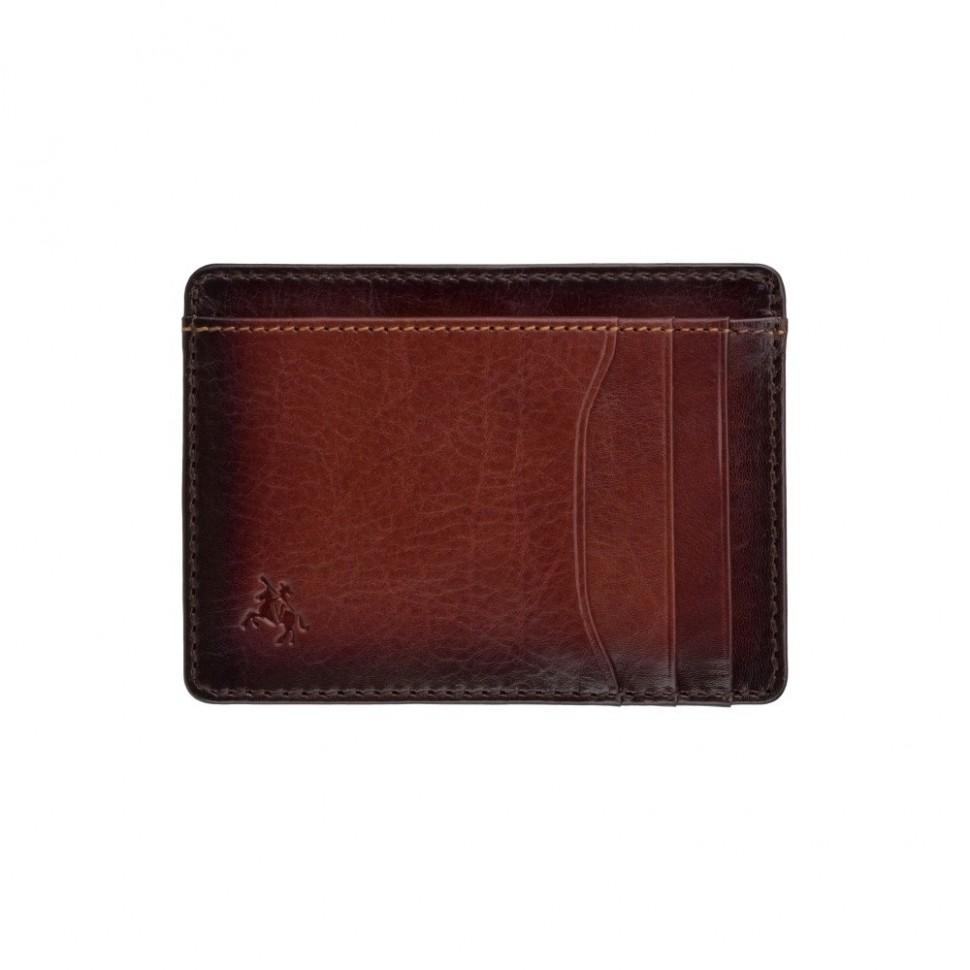 Visconti úzka pánska peňaženka leštená koža