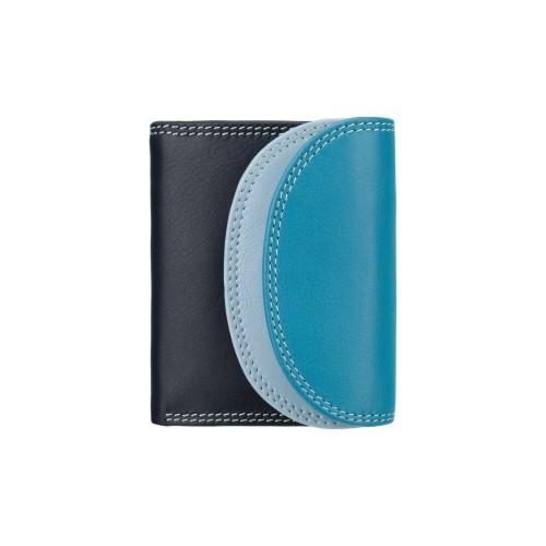 Visconti malá rozkládací peněženka modrá