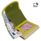 Visconti malá rozkládací peněženka zelená