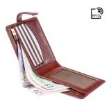 Visconti pánská kožená peněženka s extra zipem