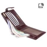 Visconti pánska kožená peňaženka extra zips