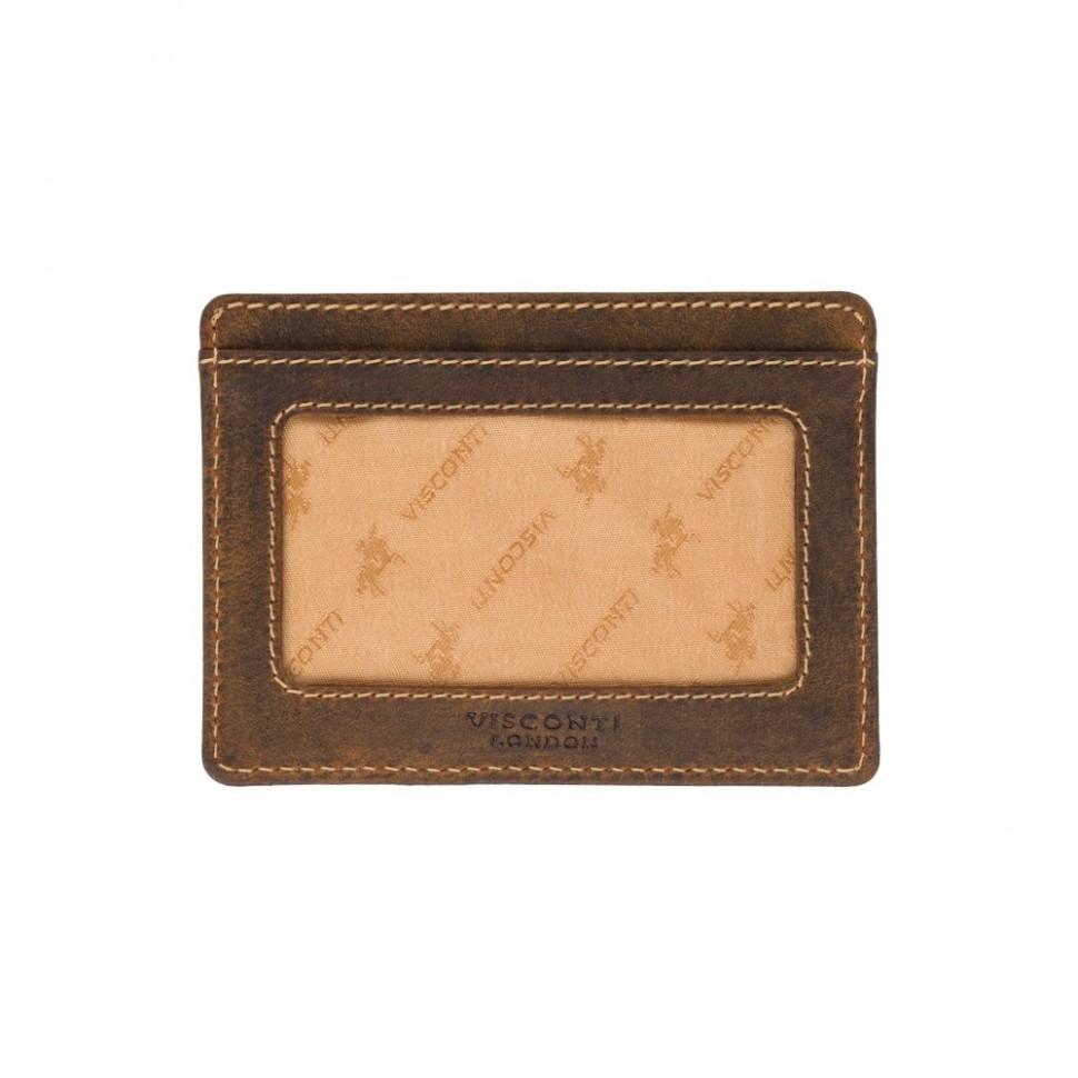 Visconti pouzdro na karty z přírodní kůže VSL58