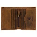 Visconti pánská kožená peněženka HUNTER hnědá