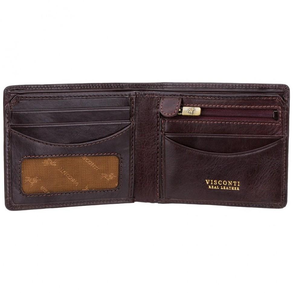 Visconti elegantná pánska kožená peňaženka