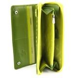 Visconti dámská kožená peněženka RAINBOW RB55 zelená