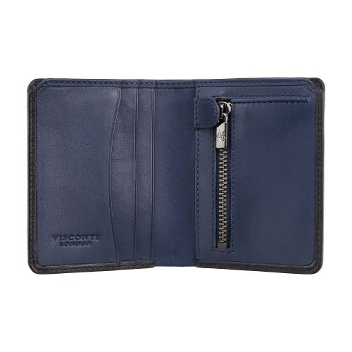 Visconti kožená peněženka s kapsou na zip
