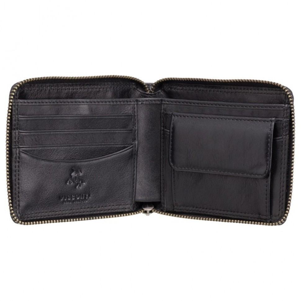 Visconti kožená peněženka na zip