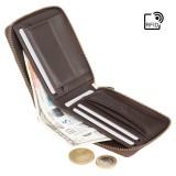 Visconti kožená peňaženka na zips