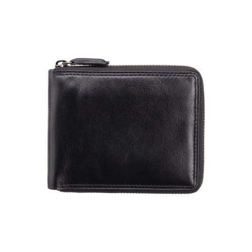 Visconti kožená peňaženka na zips s funkciou Tap & Go