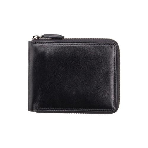 Visconti kožená peněženka na zip a funkcí Tap & Go
