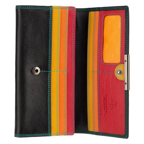 Visconti RIO R11 PALOMA dámská kožená peněženka černá