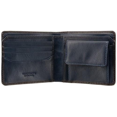 Visconti pánska peňaženka leštená koža