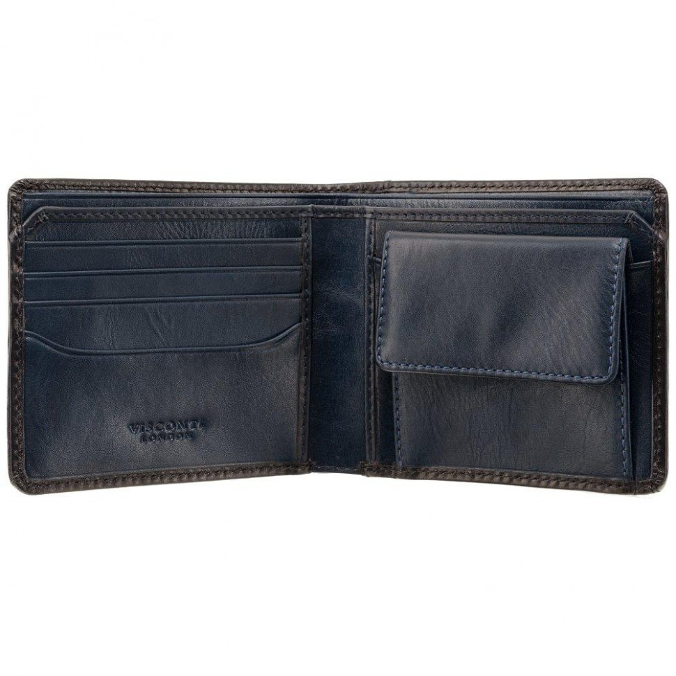 Visconti pánská peněženka leštěná kůže AT60