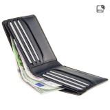 Visconti úzká pánská kožená peněženka AT58