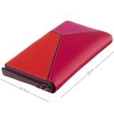 Visconti velká dámská kožená peněženka BRC98