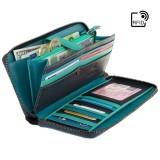 Visconti SPECTRUM veľká dámska kožená peňaženka s RFID
