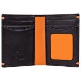 Visconti čierna kožená peňaženka AP60
