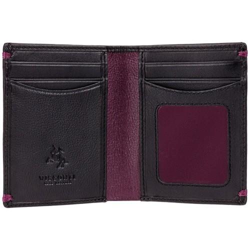 Visconti černá kožená peněženka