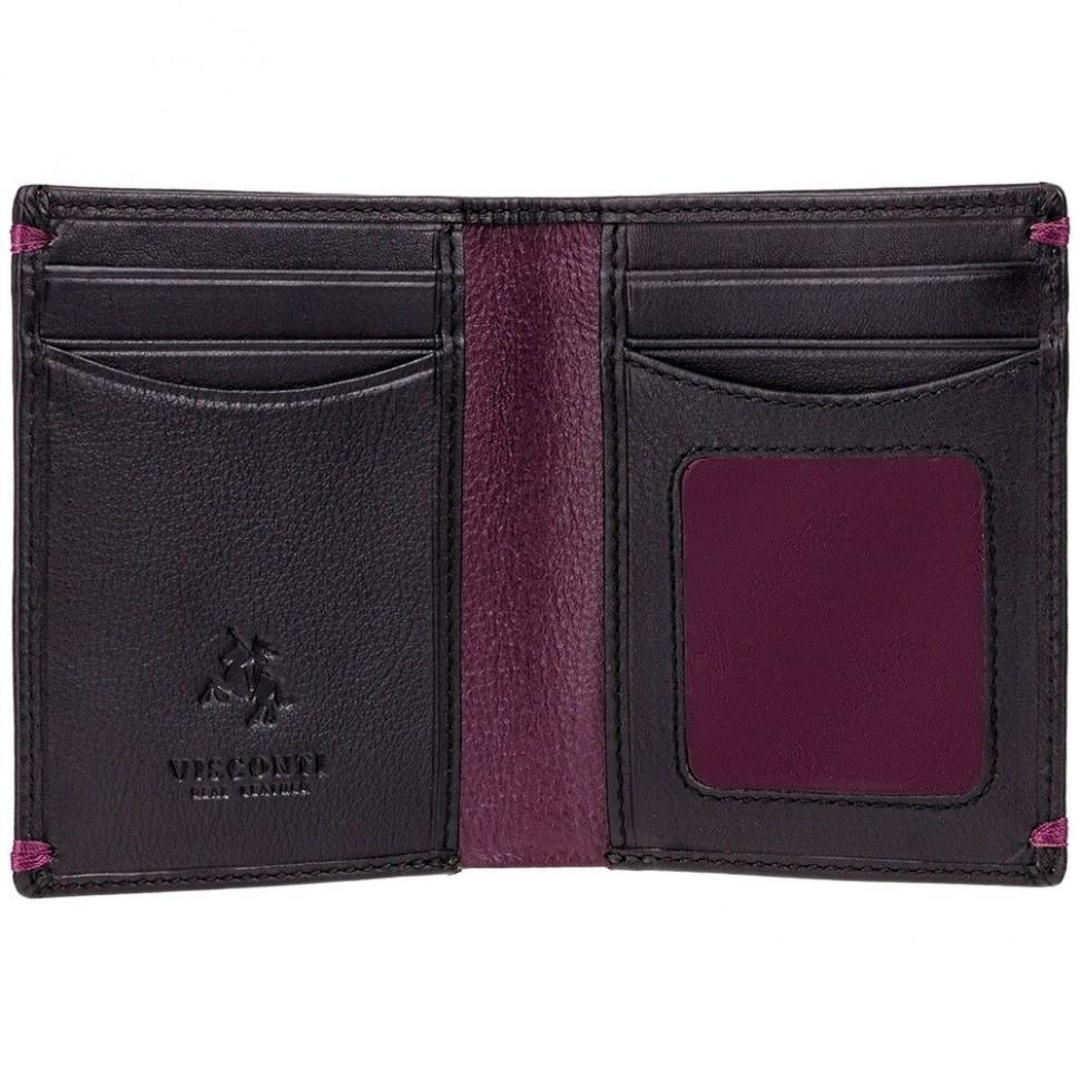 Visconti černá kožená peněženka AP60