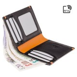 Visconti kožená peněženka s kapsou na zip AP61