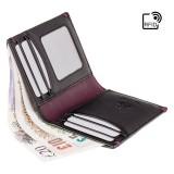 Visconti kožená peňaženka s vreckom na zip AP61
