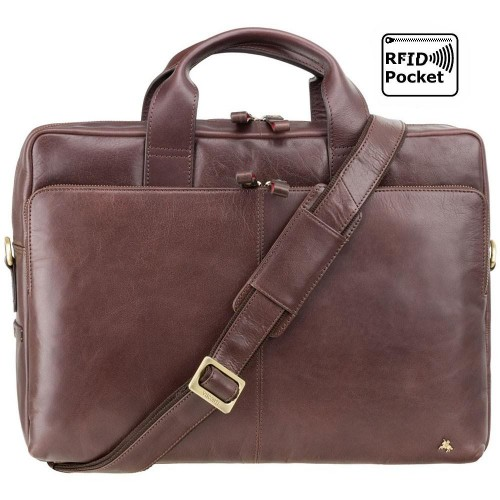 """Visconti pánská kožená taška 15"""" laptop"""